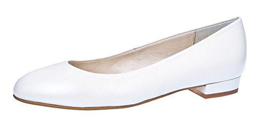 Fiarucci bruidsschoenen pumps maximale wit leer