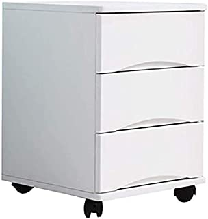 Desk Organization and Storage File Cabinet,Filing Cabinet, Wooden Storage Drawers Desk Storage Unit Organizer, Mobile File...