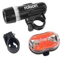 Tolson Tools 60739 Éclairage LED pour vélo 2 pièces (Import Grande Bretagne)