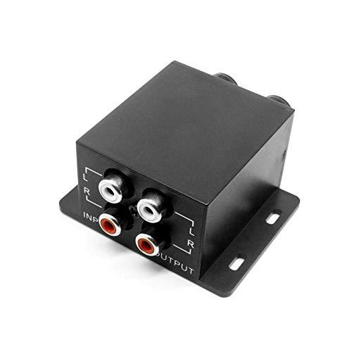 THE BEST DAY Car Audio Regulator Verstärker Bass Subwoofer Stereo Equalizer Controller 4 Cinch
