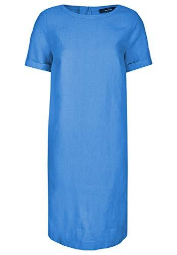 Daniel Hechter Linen Dress Vestito, Blu (Cornflower Blue 640), 46 Donna