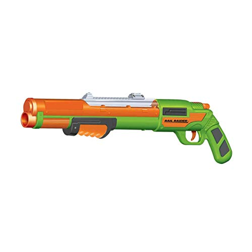 BuzzBee Air Warriors Rail Raider / Monorail - Nerf kompatibler Pumpgun-Blaster