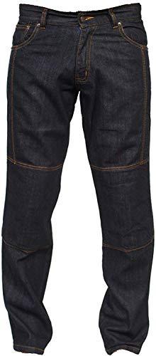 Juicy Trendz® Homme Moto Pantalon Motard Pantalon pour Homme Renforcée Aramide Protection