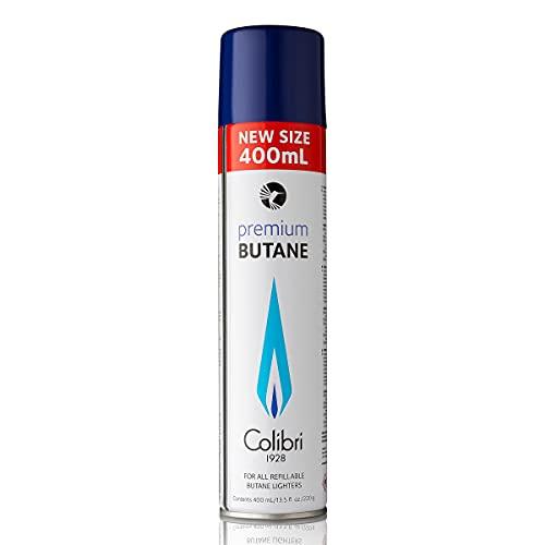 Colibri Premium Butane für alle nachfüllbaren Butane Feuerzeuge 400ml