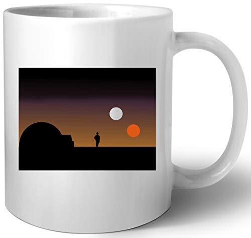 Das Doppelt Sonnenuntergang Keramik Tassen Mug