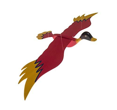 ROMBOL Schwingvogel, Schwingtier, Holz, Ente, groß , V 3