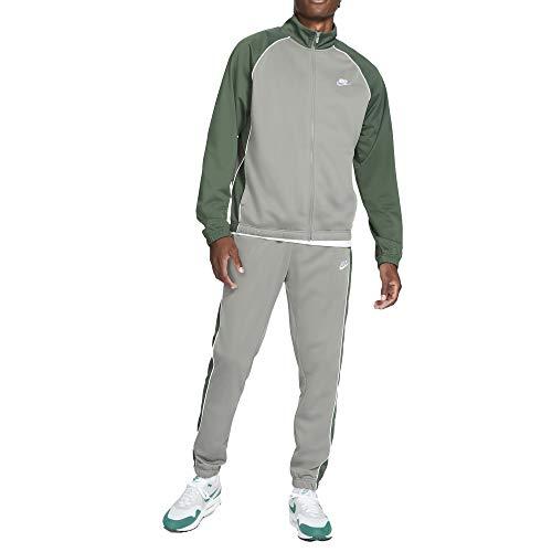 Nike NSW CE PK Tracksuit Tuta Uomo in Acetato Beige, L