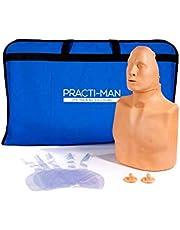 Maniquí BLS CPR RCP Adulto/pediátrico Practi-Man Basic (Practi-Man Basic)