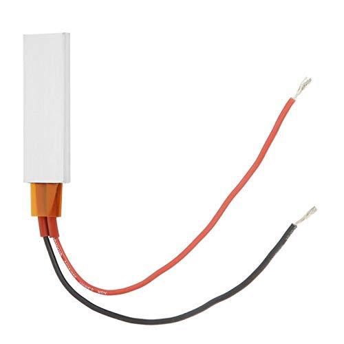 Elemento calefactor PTC de 12 V, placa calefactora termostática de aluminio, para cafetera, máquina de yogur(12V 220℃)