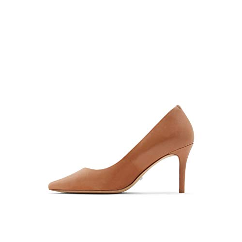 ALDO Women's Coronitiflex Dress Heel Pump, Cognac, 8.5