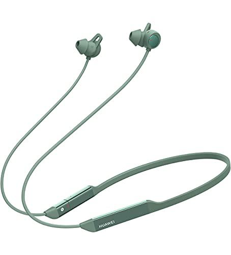 Huawei FreeLace Pro Auricolare Wireless, Cancellazione Attiva del Rumore Dual-Mic, In-Ear, Bluetooth, Verde