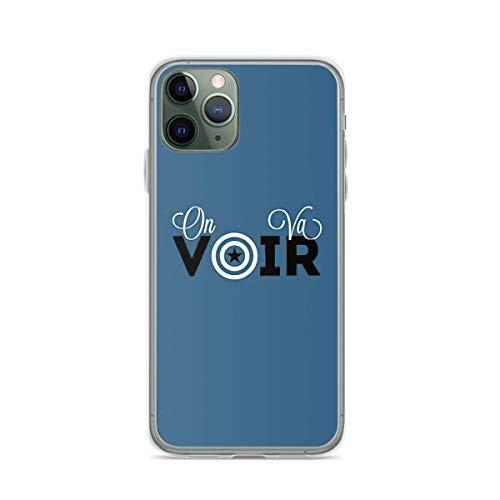 Custodie per telefoni Pure Clear compatibili con Samsung/iPhone 12/11/X/XR/7/Xiaomi Redmi 9A/Note 9/10/8 Pro Custodie per On Va Voir Custodia protettiva morbido TPU
