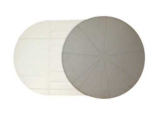 Drive Medical Vitaturn L - Disco giratorio de transferencia, color gris y blanco