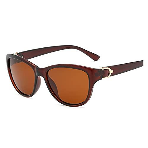 Gafas De Sol para Hombres Diseño de Lujo Gafas de Sol polarizadas Hombres Mujeres Lady Elegant Gafas de Sol Mujer Driving Gafas (Color : C2)