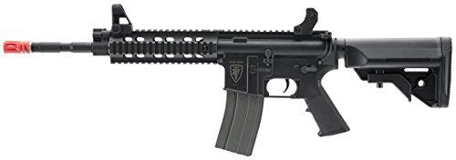 Elite Force M4 AEG Automatic 6mm BB Rifle Airsoft Gun, CFR, Black