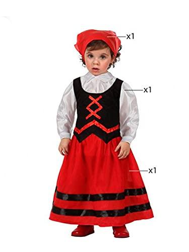 DISBACANAL Disfraz de pastora para beb - 0-6 mese
