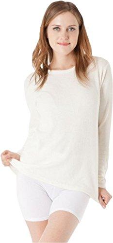 CzSalus Ondergoed shirt in Angora met lange mouw
