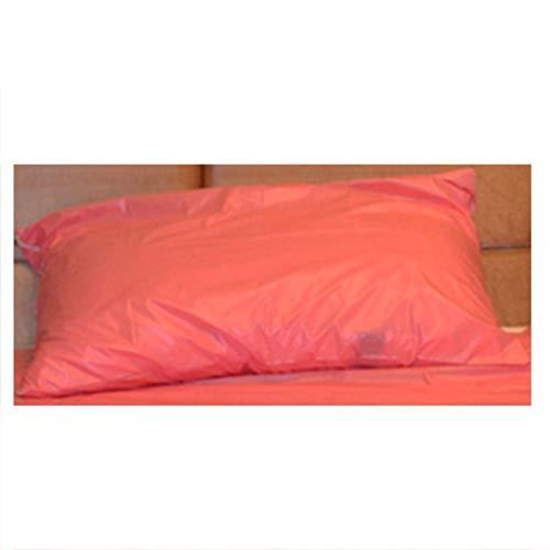 FQLZ Erwachsene Spiele für Paare Sex Sex Bettwäsche Blatt Ölfestes Spa-Matratze Bettbezug Leidenschaft liefert Paar Liebesspiele Spielen Verbessern Glück cool Light pink50cm*70cm(X2)