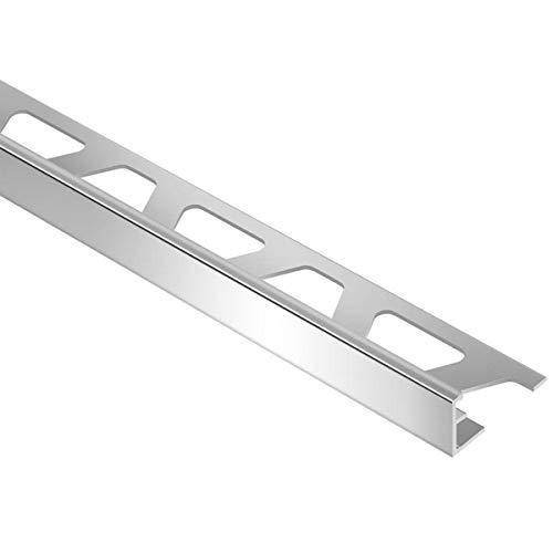 Schluter Jolly Anodized Aluminum Tile Edging Trim (1/2' Polished Chrome (ACG))