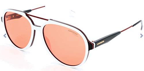 Carrera 1012-S-7DM-56 Gafas de sol, Blanco, 56 Unisex