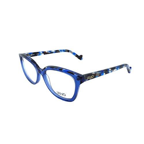 Liu Jo Lj2676 424 52 Montature, Blu (Blue), Donna