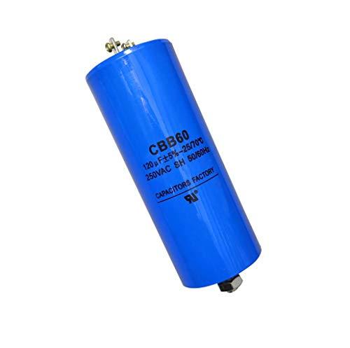 250VAC 120uF CBB60 Run Capacitor 250V AC 120MFD,w/Fixing Stud 50/60Hz UL Listed