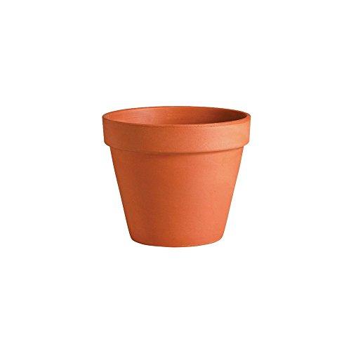Testrut Vasi per Piante TON, Rotondo, di Terracotta, di Fabbricazione Europea, Gli Coasters, Rosso, Diametro: approssimativamente. 35 CM; Altezza: Circa 29,5 cm