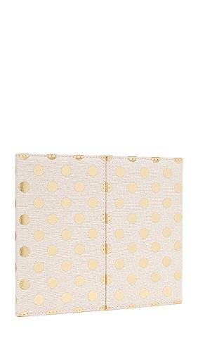 Kate Spade New York Women's Desktop Weekly Calendar & Folio, Gold Dots, One Size