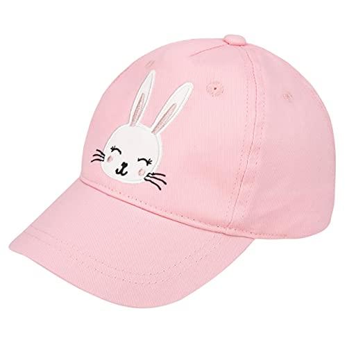 Foruhoo Gorra de béisbol para niños, ajustable, para niñas de 2 a 8 años, Algodón: conejo, Large