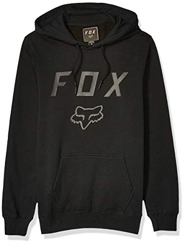Fox Racing Men's Standard Legacy Moth PO Fleece, Black, X-Large