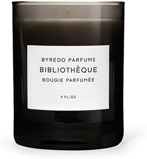 Max 50% OFF BYREDO Bibliotheque Fragranced Candle 8.4 oz. 60hr Seasonal Wrap Introduction