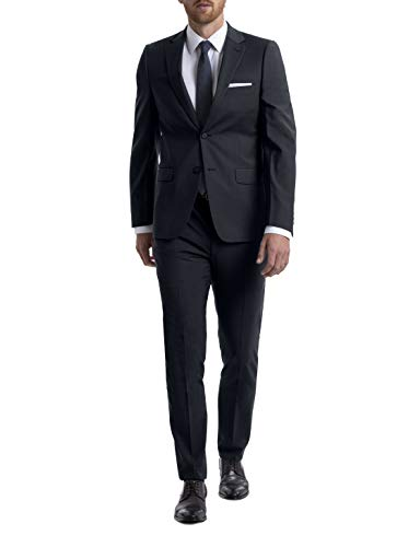 Calvin Klein Men's Skinny Fit Stretch Suit Separates – Custom Jacket & Pant Size Selection, Navy, 30X30