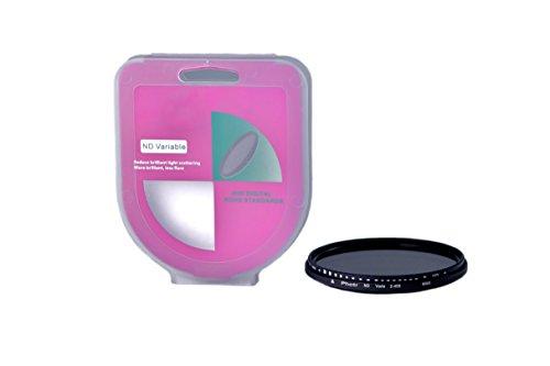 phot-r 77mm Professionelle Slim 400Variabler Dichte Verstellbare Filter Objektiv Zubehör
