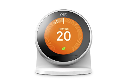 Nest Stand for The Learning Thermostat 3rd Gen. Pasivo Color Blanco - Soporte (Pasivo, Interior, Color Blanco, Nest Learning Thermostat 3rd Gen.)