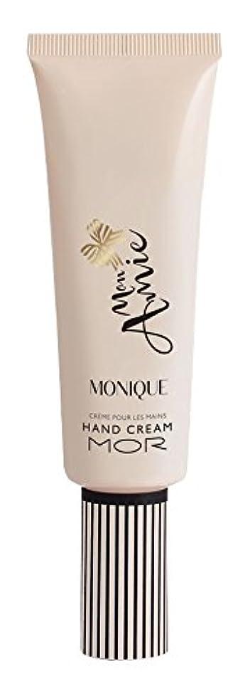 規則性摂氏くそーMOR(モア) モナミー ハンドクリーム モニーク(グアバとアップルのフルーティな印象にサンダルウッドとムスクの組み合わせが香ります) 50ml
