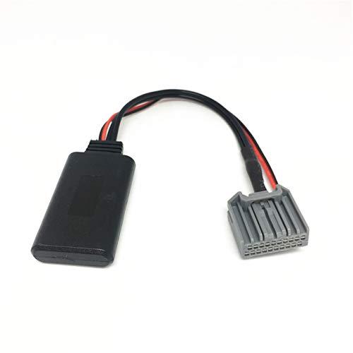 Shine Adaptateur Bluetooth de Voiture pour Honda A ord Civic CRV, sans Fil, Lecteur CD stéréo, Interface Musique AUX pour Civic 2006-2013, CRV 2008-2013, A ord 8ème génération 2008 et Plus