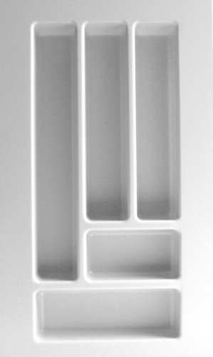 Besteckeinsatz UNIVERSAL30 mit 5-Facheinteilung (B 201-299 x T 437-496 mm) / Besteckkasten/Besteckeinsätze