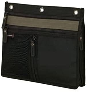 3 Ring Binder Pencil & Accessory Pouch... Expandable 10