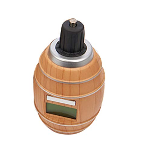 Pineapplen Herramientas de Barra de Cocina Inteligente Decantador de Vino EléCtrico de OxíGeno Pantalla LCD Aireador Cabezal de GasificacióN Microporoso Decantador RáPido