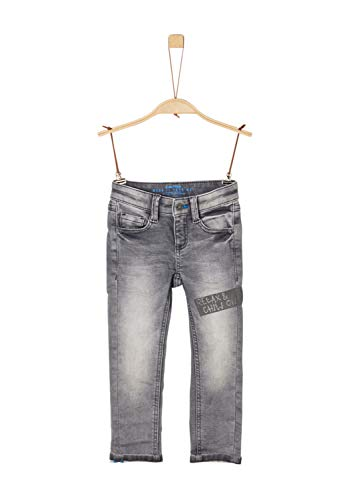 s.Oliver Jungen 63.908.71.3425 Jeans, Grau (Grey/Black Denim Stretch 96Z7), (Herstellergröße:92/REG)