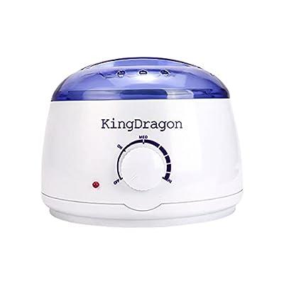 KingDragon Wax Pot Wax Warmer-Electric Wax Heater-Waxing Kits Professional Full Kit,Hot Wax Machine All Body Applications,Safe Painless at Home and Salon Wax Melter Hair Removal Kits