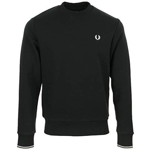 Fred Perry Crew Neck Sweatshirt Carbon, Sweatshirt - M