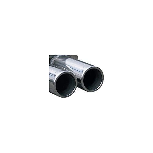 InoXcar OVSE.03.80 100% Edelstahl Sportauspuff Seat Leon 1M 1.9 TDi (110PS) 2000-2x80mm, Inox