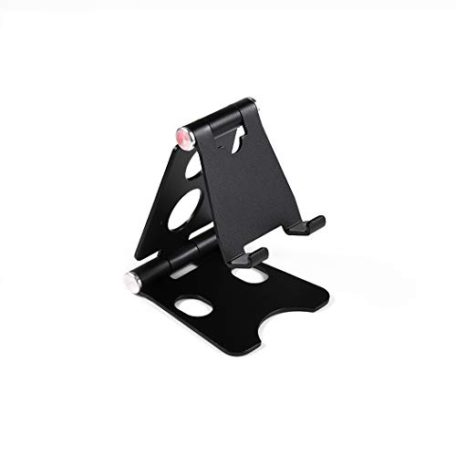 BEHO-Trends Soporte de mesa para teléfono móvil, soporte para teléfono móvil, soporte para teléfono, soporte para mesa, soporte para smartphone, color negro