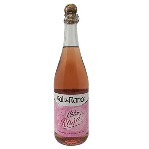 Val de Rance Cidre de Bretagne Rosé Apfelwein aus Frankreich 0,75 Liter