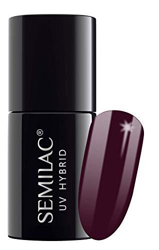 semilac UV Hybrid Nagellack, Anzahl 083, 7ml, burgund Wein