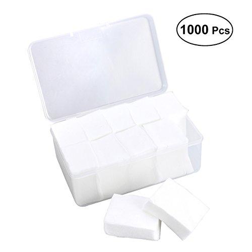 Frcolor 1000pcs algodón almohadillas absorbente delgado