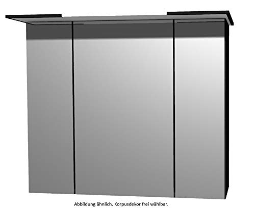 PELIPAL Solitaire 9025 Spiegelschrank/SPS 02 / Comfort E/B: 85 cm
