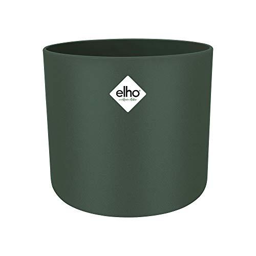 Elho B.for Soft Round 18 - Flowerpot - Leaf Green - Indoor - Ø 18.3 x H 16.8 cm