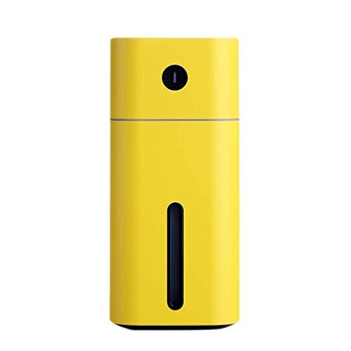 Difusores para aceites Esenciales Humidificador USB para automóvil Spray para automóvil Purificador de Aire Hidratante Pequeño y Lindo Aromaterapia Inalámbrico Hogar Silencioso Dormitorio Me